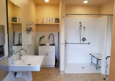 Showerhouse - Cloud Mountain Reteat Center